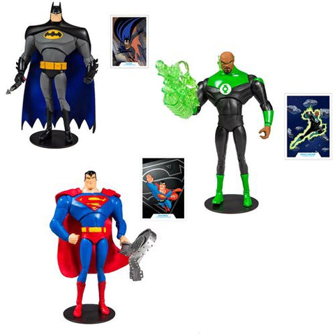 McFarlane Toys DC Multiverse Animated Wave (3 Figure Set)