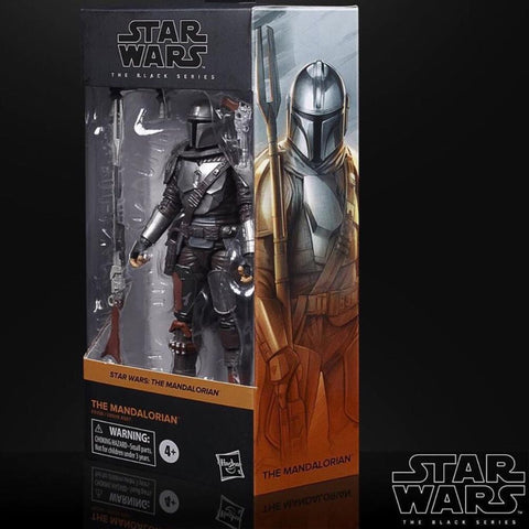 Star Wars Black Series Mandalorian Beskar Armor 6-Inch Figure