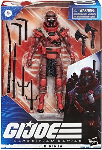 Pre-Order - G.I. Joe Classified Series 6-Inch Red Ninja