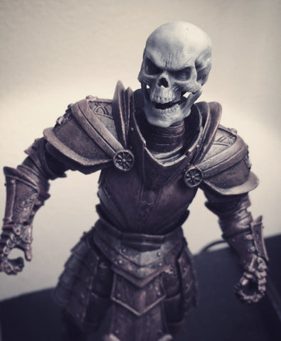 1/12 Unpainted Head - Skull B (For Mythic Legions 1.0 Bodies)