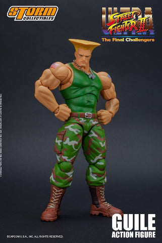Pre-Order - Storm Collectibles Guile Figure