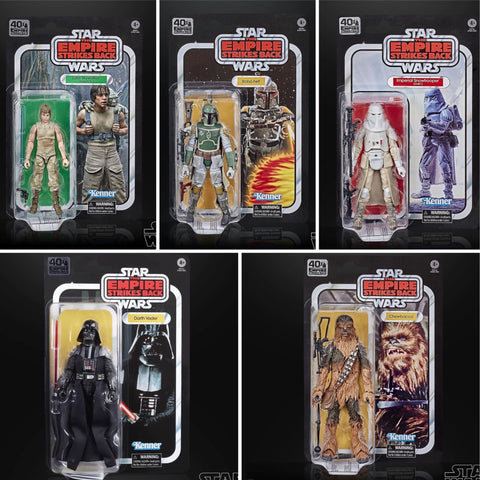 Pre-Order - Star Wars Black Series ESB 40th wave 3 (5 Figure Set)