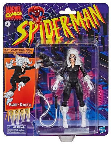 Pre-Order - Marvel Legends Retro Black Cat 6-Inch figure