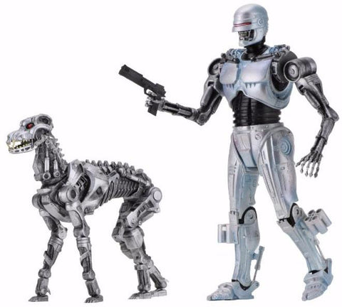 "In stock! RoboCop vs Terminator - 7"" EndoCop/Terminator Dog 2-Pack"