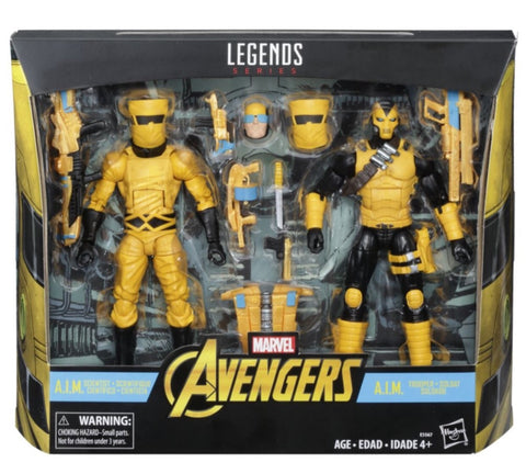 In Stock - Marvel Legends AIM 2 pack (scientist and shocktrooper)