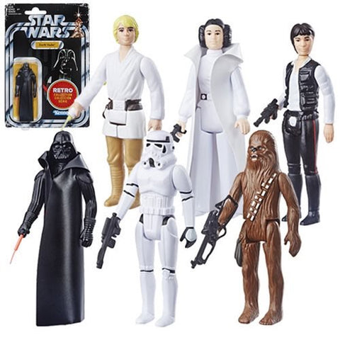 "Star Wars 3.75"" Retro Collection (6 Figure Set)"