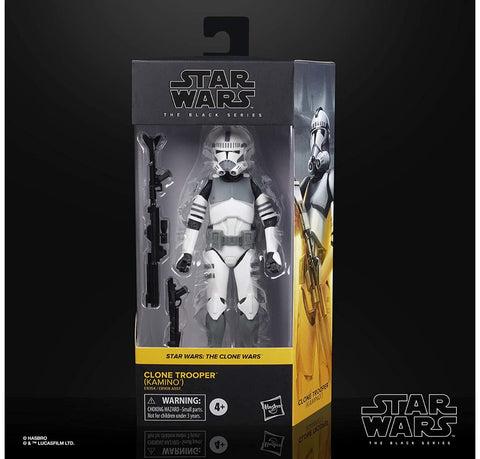 Star Wars Black Series Clone Trooper Kamino 6-Inch Figure