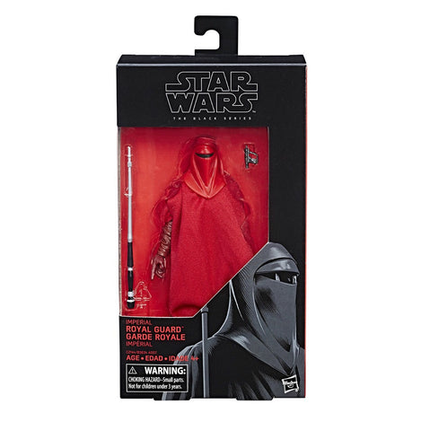 In Stock! - Single Black Series Royal Guard 6-Inch Figure