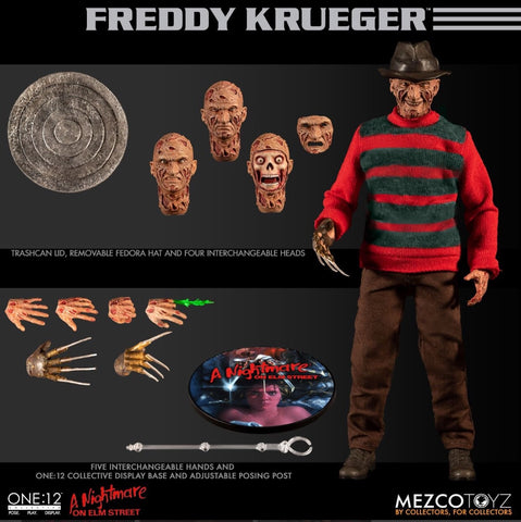 Pre-Order - Mezco Nightmare on Elm Street: Freddy Krueger