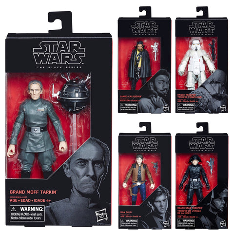 "Star Wars Black Series - BLOWOUT SALE!  6"" Solo Wave (5_Figure Set)"