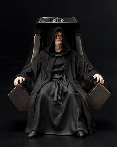 In Stock! Art FX 1/10 Scale Emperor Palpatine statue and Throne