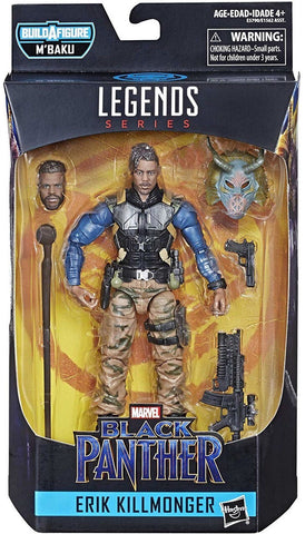 Marvel Legends Erik Killmonger 6-Inch