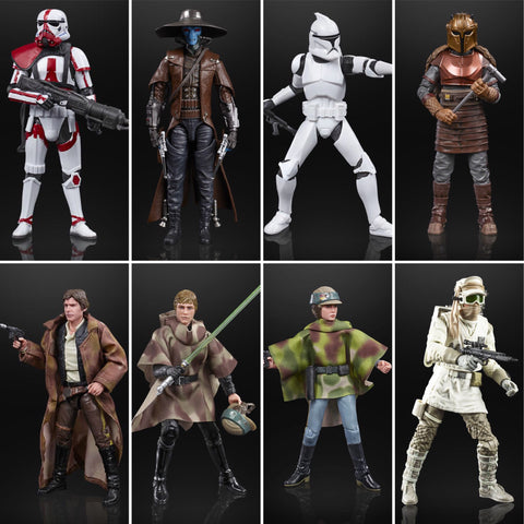 Shipping Soon! Star Wars Black Series Wave 27 (8 Figure Set)