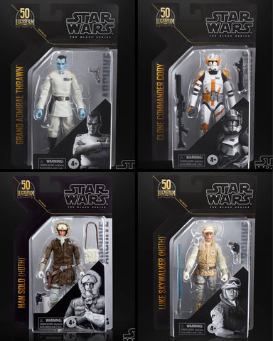 In Stock this Week! Star Wars Black Series Archive Wave 3 (4 Figure Set)