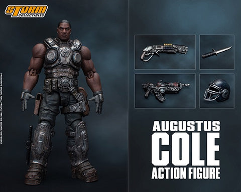 "Pre-Order - Storm Collectables Gears of War - Augustus Cole 7"" Figure"