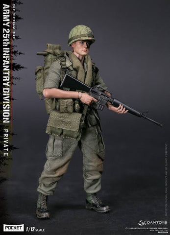 DAMTOYS  1/12 POCKET ELITE SERIES - ARMY 25th Infantry Division Private