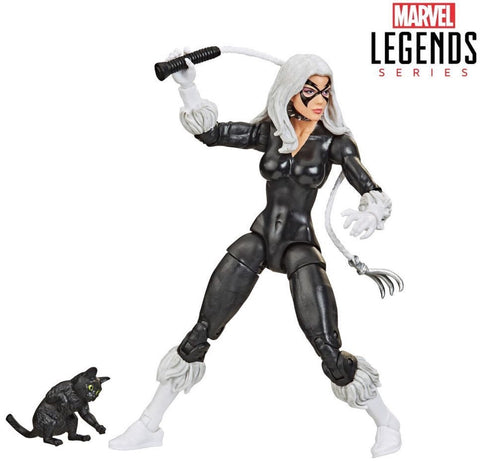 Marvel Legends Retro Black Cat 6-Inch figure