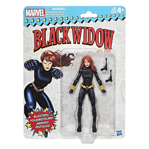 Marvel Legends Vintage 6-Inch  - Black Widow