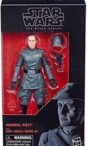 SALE! Star Wars Black Series Exclusive - Admiral Piett 6-Inch Figure