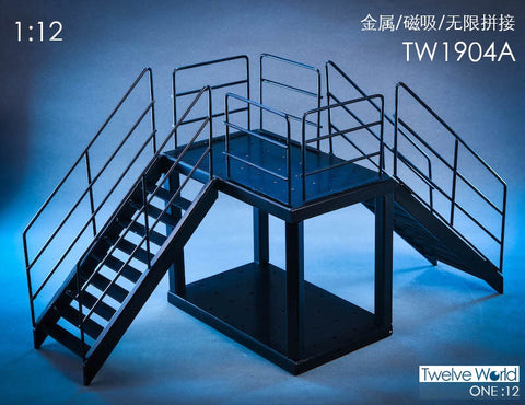 Pre-Order - TWTOYS TW1904a 1/12 scale Steel Stairs