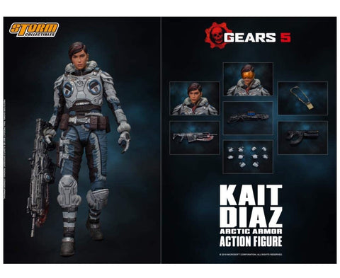 Storm Collectibles Kait Diaz Gears of War Figure