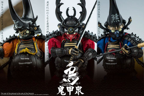 Pre-Order - Crow Toys 1/12 Scale (3 Figure Set)