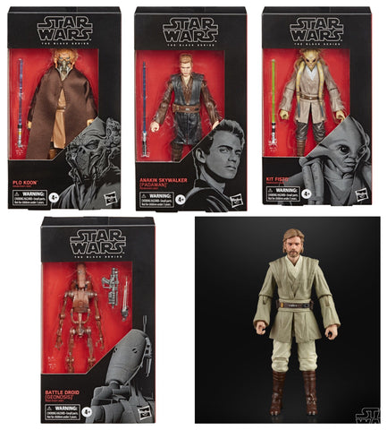 Star Wars Black Series AOTC 5 Figure Set