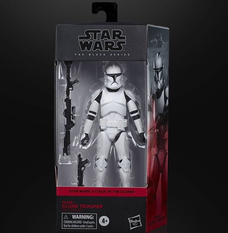 Shipping next week - Star Wars Black Series Phase 1 Clonetrooper