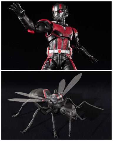 In Stock! S.H.Figuarts Antman with Ant Horsie