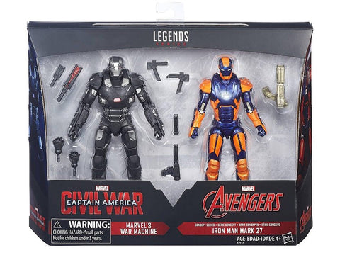 Marvel Legends Iron Man 2 Pack Exclusive