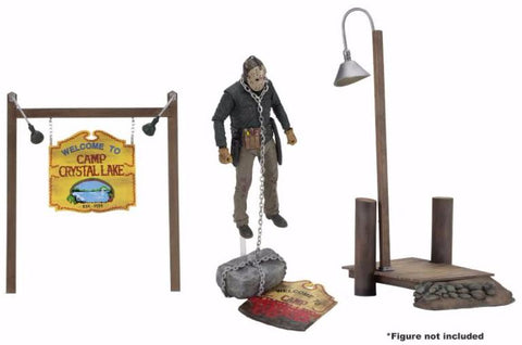 PRE-ORDER - Friday The 13th Camp Crystal Lake Accessory Pack