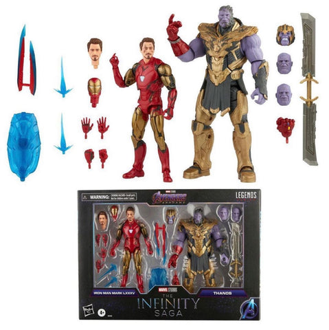 Pre-Order - Marvel Legends Infinity Saga Thanos & Iron Man 2-Pack