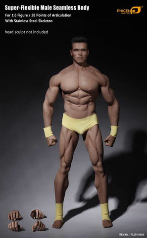 Phicen 1/6 scale Seamless Male Body 3.0