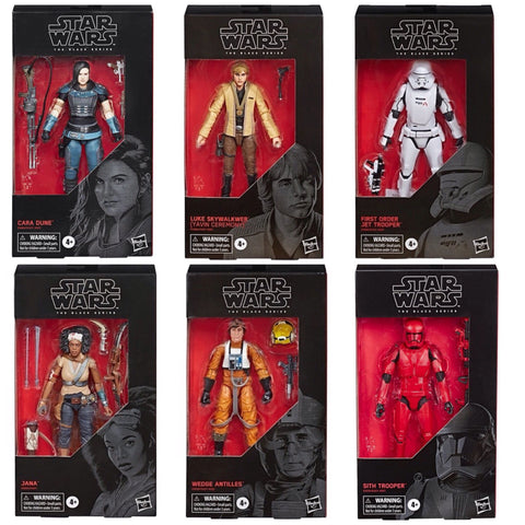 In Stock! Star Wars Black Series Wave 34 (6-Figure Set)