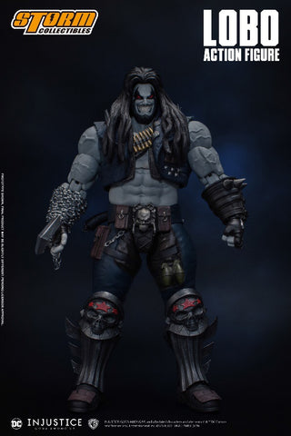 Pre-Order - Storm Collectibles Injustice: Gods Among Us Lobo 1/12 Scale Figure