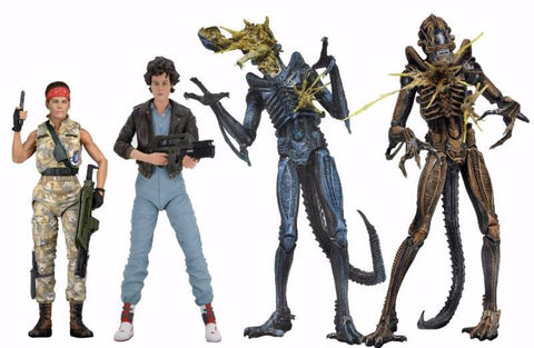 Aliens Series 12 (4 Figure Set)