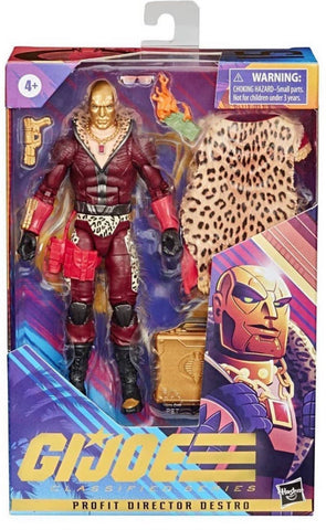 Pre-Order - G.I. Joe Classified Series 6-Inch Profit Director Destro Action Figure - Exclusive