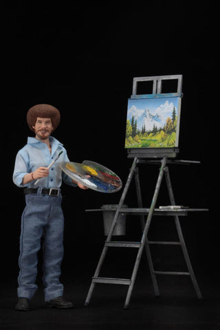 "Bob Ross NECA 8"" Clothed Figure"