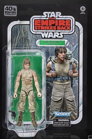 "Star Wars Black Series ESB 40th Dagobah Luke 6"" Figure"