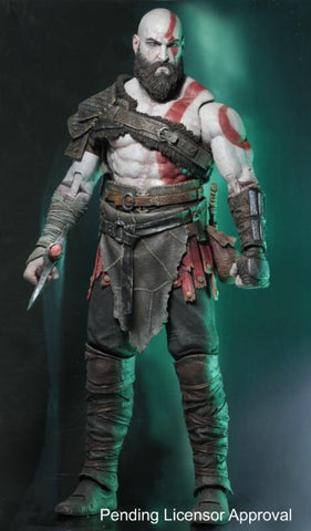 "PRE-ORDER - NECA God of War 4 Kratos - 7"" Scale Figure"
