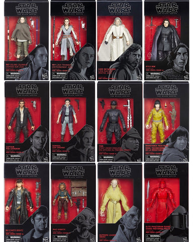 SALE! Star Wars Black Series - Last Jedi 12-Figure Set