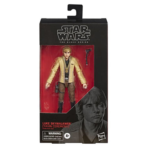 In Stock! Star Wars Black Series Ceremony Luke Skywalker