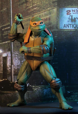 FREE Shipping Included - Michelangelo 1/4 Scale TMNT by NECA