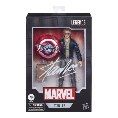 "(LIMIT 1) Marvel Legends Stan Lee 6"" Figure"