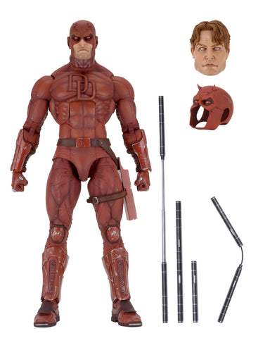 "NECA 1/4 Scale Daredevil 18"" figure"
