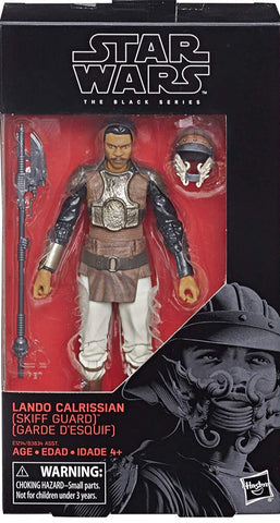 Black Series Lando Skiff Disguise 6-Inch Figure