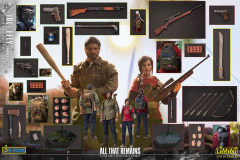 Pre-Order - Limtoys 1/12 scale Jol & Elly All That Remains (Set of 2)