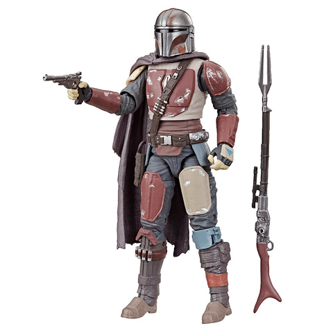 (LIMIT 1) Star Wars Black Series The Mandalorian 6-Inch Figure