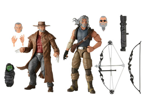 Pre-Order - X-Men Marvel Legends 20th Anniversary Old Man Logan & Hawkeye