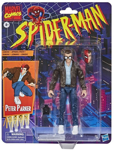 Marvel Legends Retro Peter Parker Figure